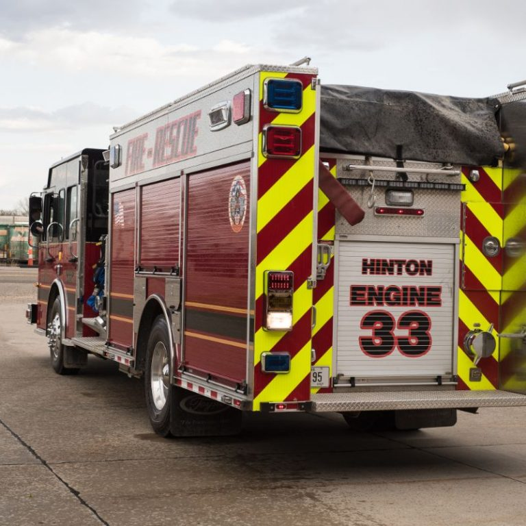 Hinton Fire & Rescue Truck